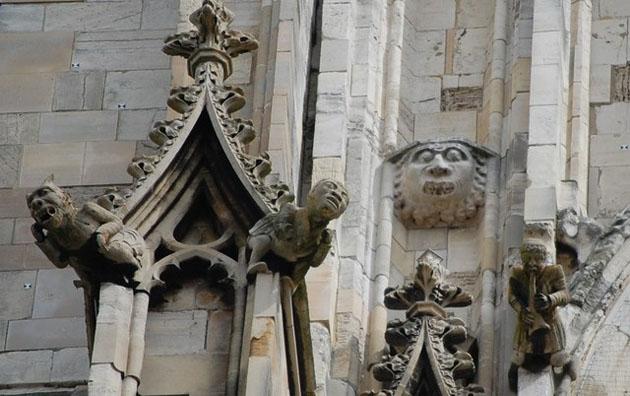 Carvings York Minster