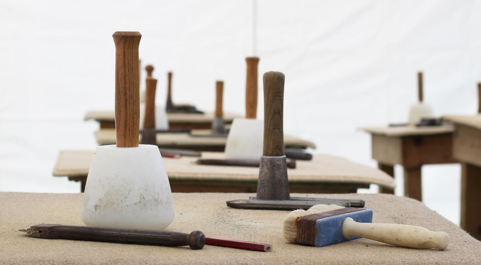 Stone Carving Course - Spring 2018
