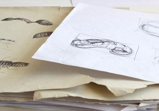 Sketchbooks for sculpture ideas