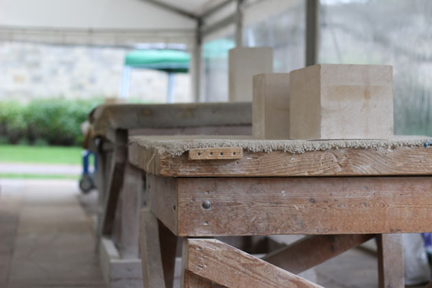 Workbenches and stone