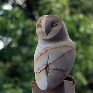 Barn Owl Sculpture