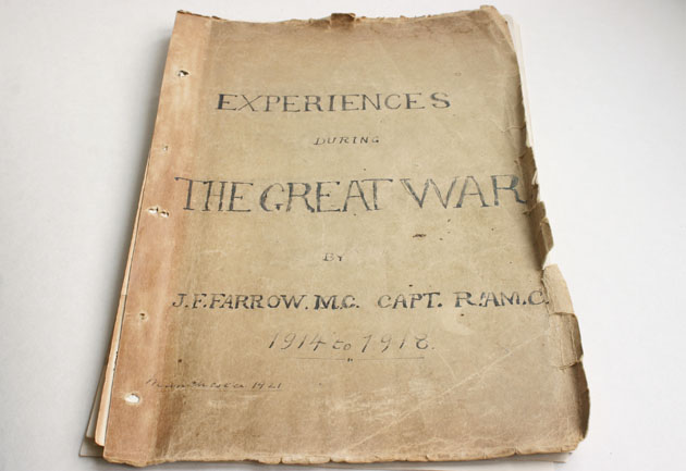 Experiences from the Great War