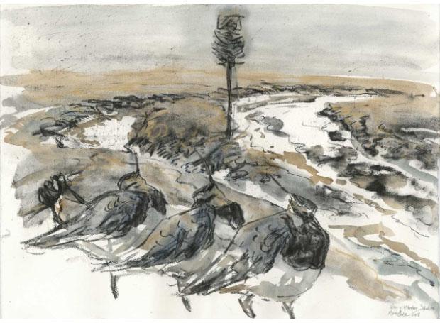 Lapwings by Marco Brodde