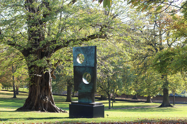 Barbara Hepworth sculpture at Yorkshire Sculpture Park