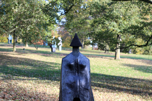 Cloaked Figure sculpture by Lynn Chadwick