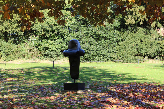 Joan Miro sculpture at the Yorkshire Sculpture Park