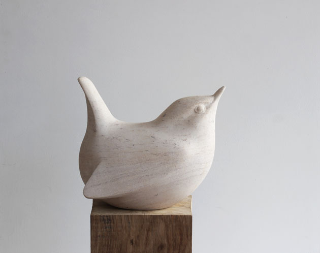 Wren sculpture