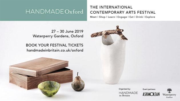 Handmade Oxford exhibition 2019