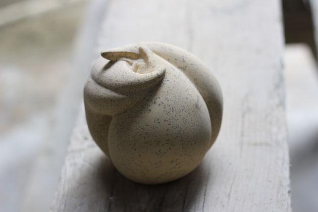Plant shaped sculpture