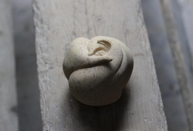 Organic shape sculpture