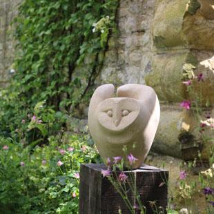 Owl fly sculpture