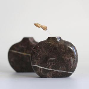 marble Pebble Vase