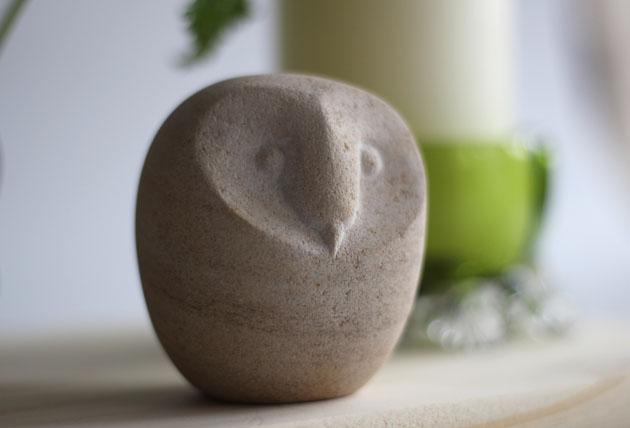 small barn owl sculpture