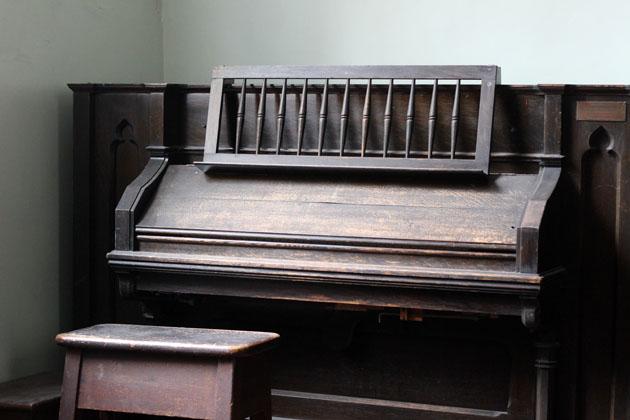 Piano at Sinnington Methodist Chapel