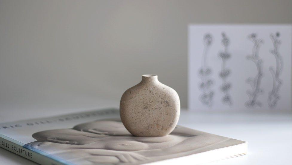 Vase - Hopton Wood Limestone