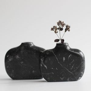 Vases in Ashburton Marble