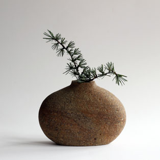 Vase with stems for Christmas