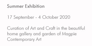 Summer Exhibition dates for Magpie Contemporary Art