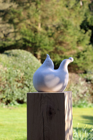 Cherty Bird stone garden sculpture