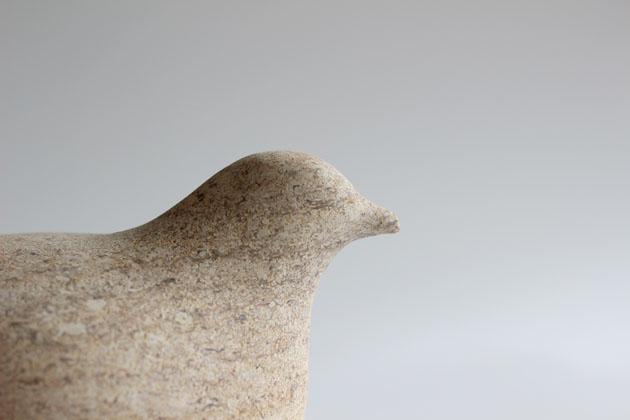 Bird sculpture detail