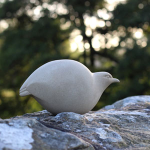 Festive 30 exhibition - bird sculpture