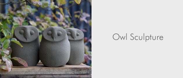 Owl stone sculpture gallery