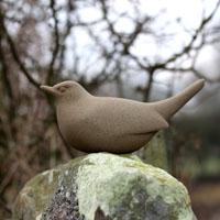 Blackbird sculpture