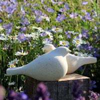Garden Birds sculpture