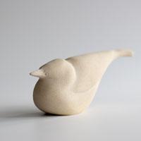Lean Bird sculpture