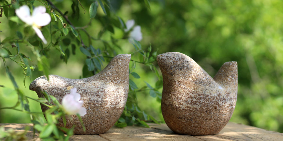 Small Bird stone sculpture