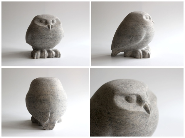 Little Owl sculpture