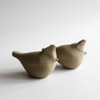 Crested Tit bird sculpture
