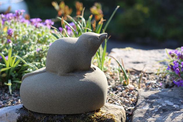 Shrew sculpture
