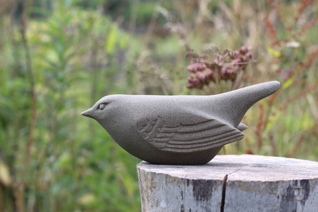 Meadow Pipit sculpture