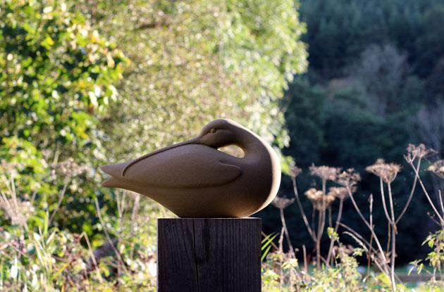 Curlew sculpture